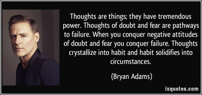 Conquer Doubt and Fear